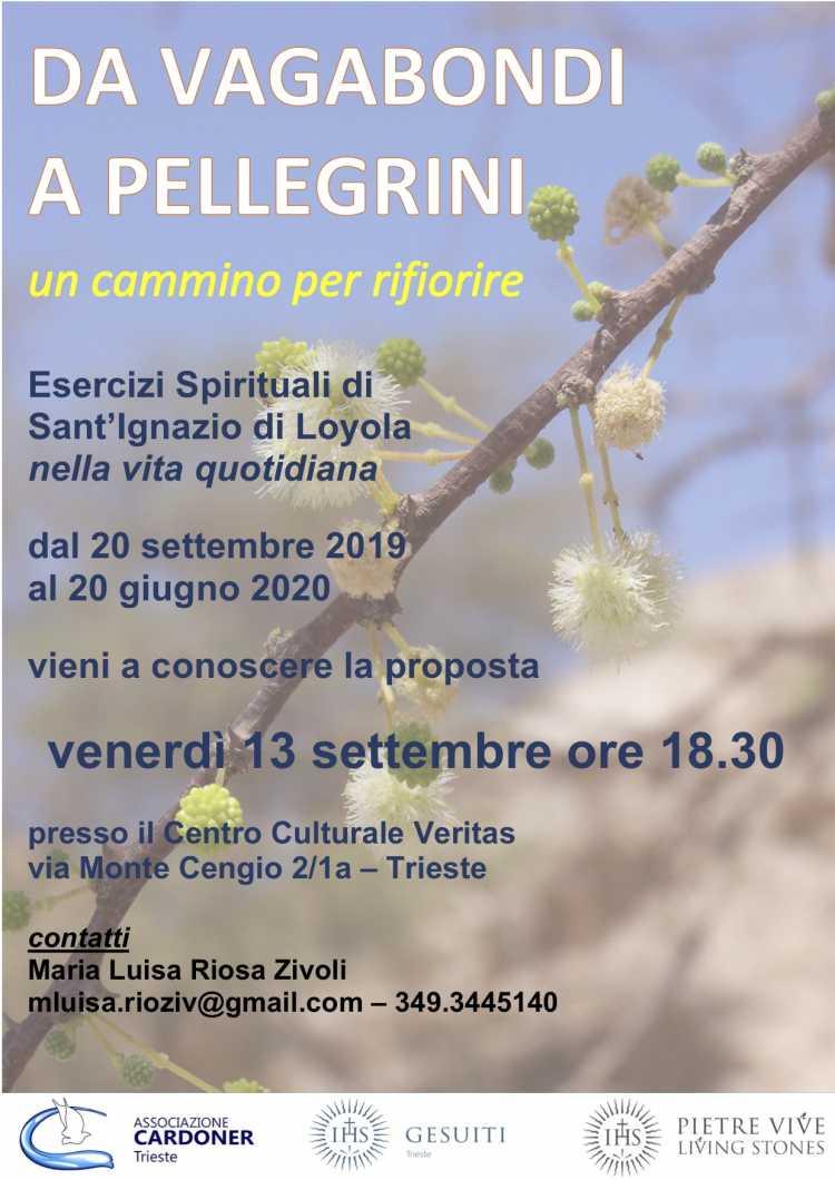 Calendario Esercizi Spirituali 2020.Esercizi Spirituali Nella Vita Quotidiana